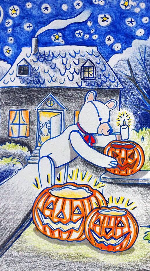 Preparing Halloween